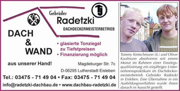 Dachbau Radetzki